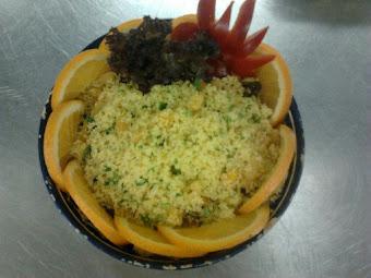 Gyümölcsös kuszkusz saláta