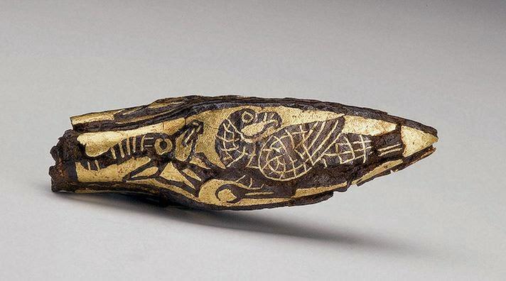 Kuş ve Antilop figürlü İskit Türklerinin ok ucu, Arzhan Kurganı-Tuva M.Ö. 700