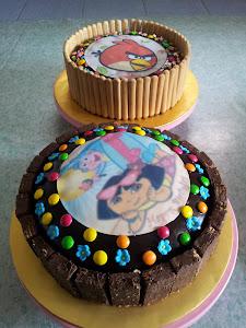 kek coklat moist hari guru