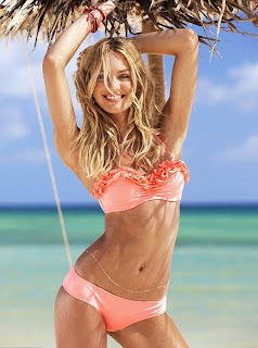 Candice Swanepoel beach shoot, Candice Swanepoel swimwear