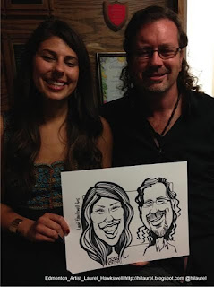 Edmonton Artists caricatures