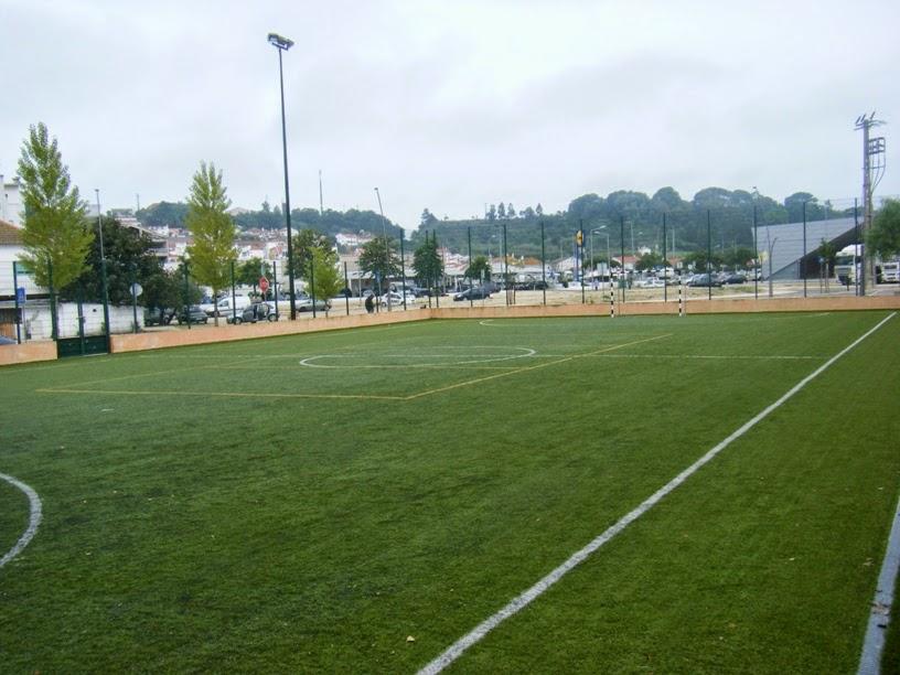 Campo de Futebol de relva sintética