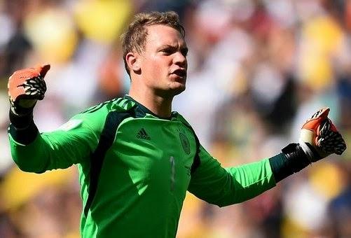 kiper terbaik Piala Dunia 2014