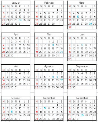 Download Kalender Tahun 2013