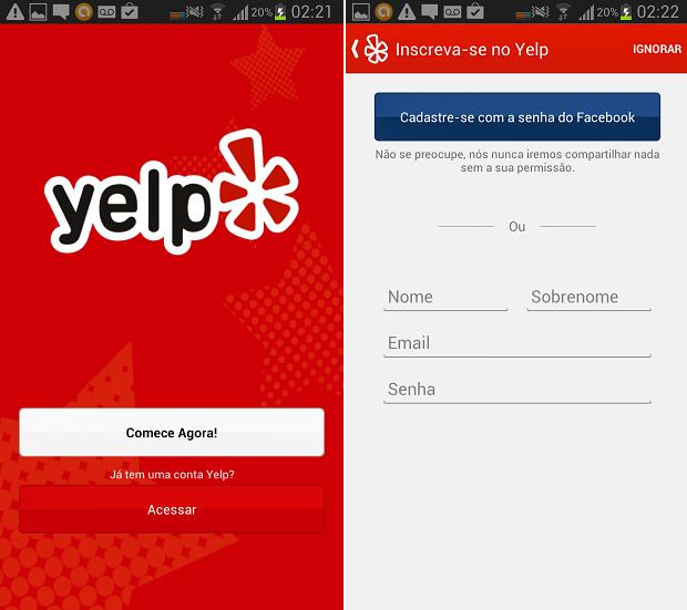 Yelp chega ao Brasil