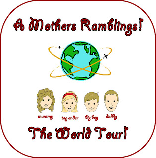 The A Mothers Ramblings World Tour Logo