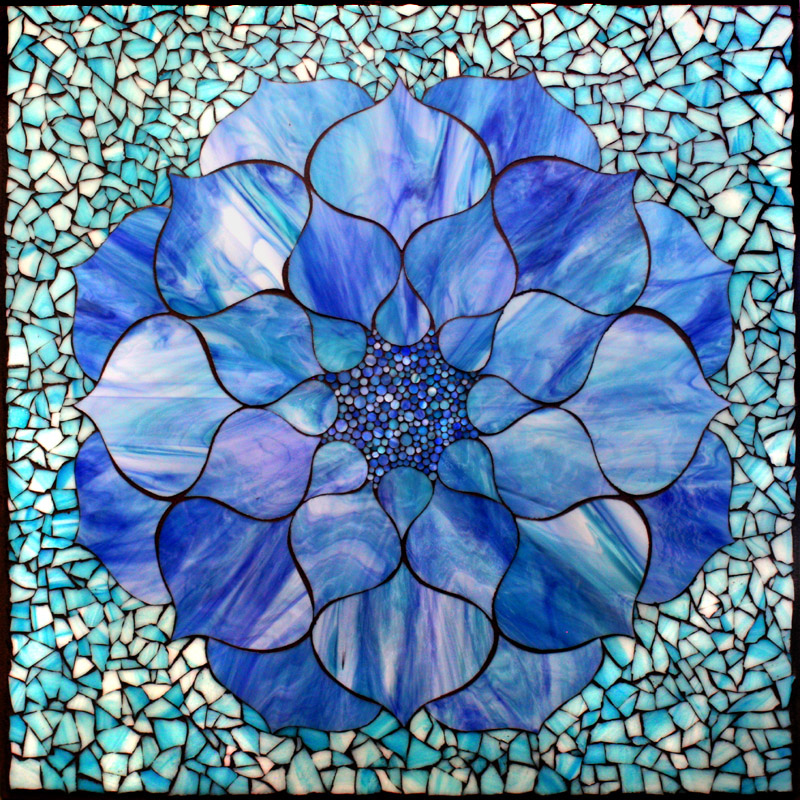 Stained Glass DECOgel Lotus Flower