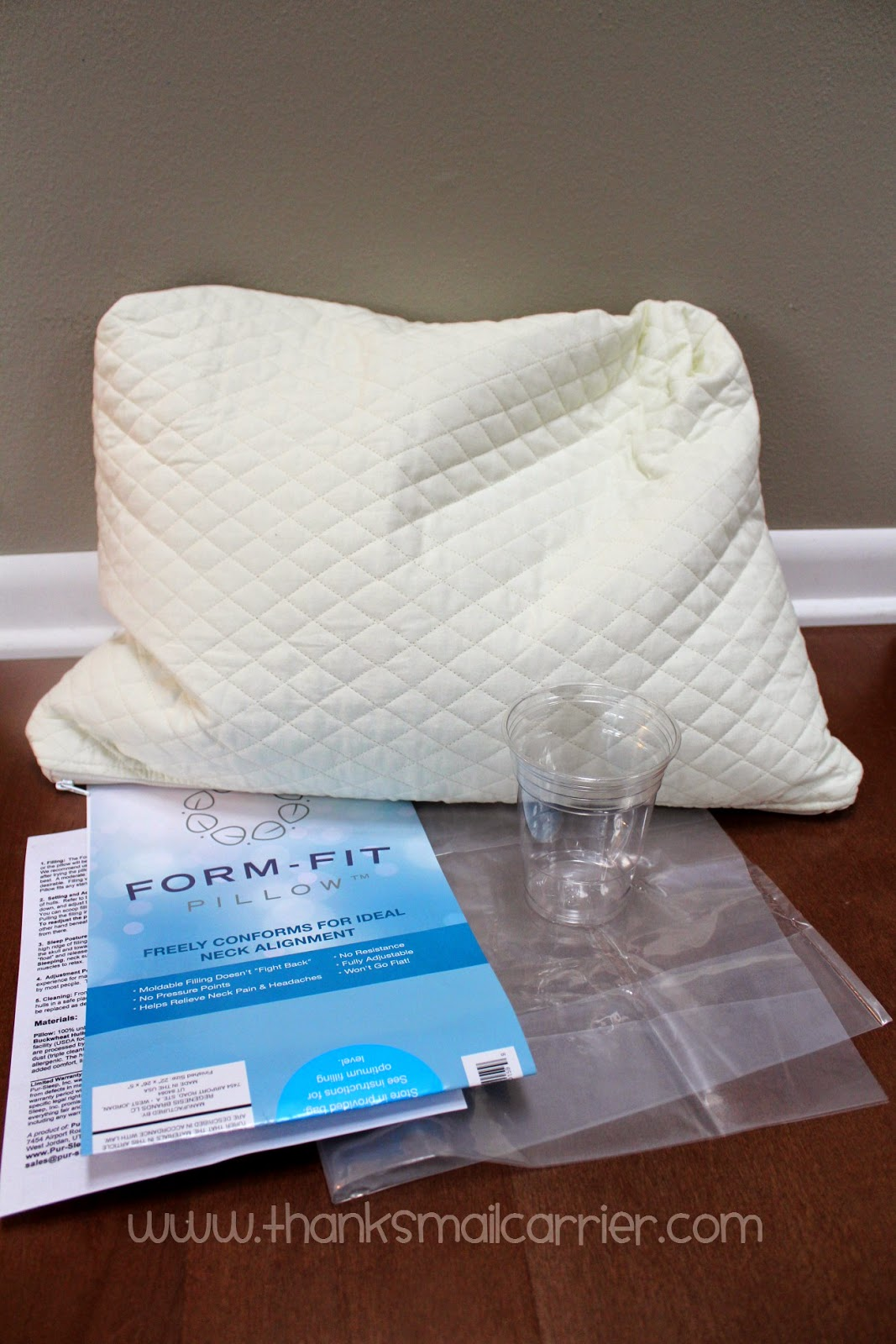 Form-Fit pillow review