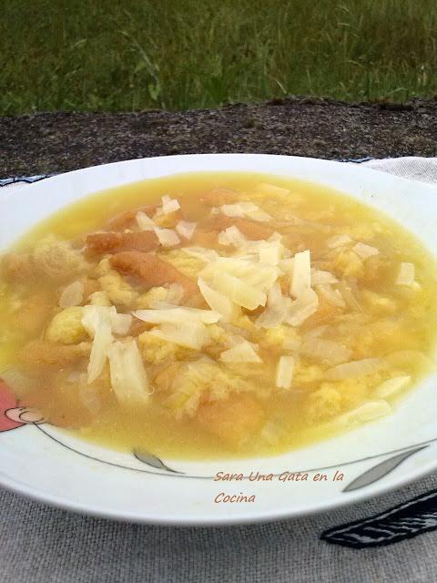Sopa Rústica De Pollo