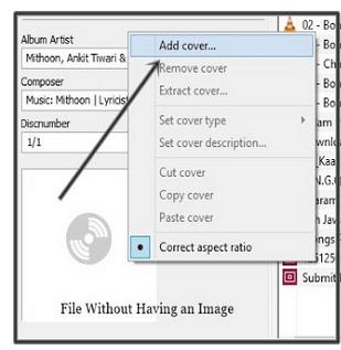 Cách thêm hình ảnh vào File MP3