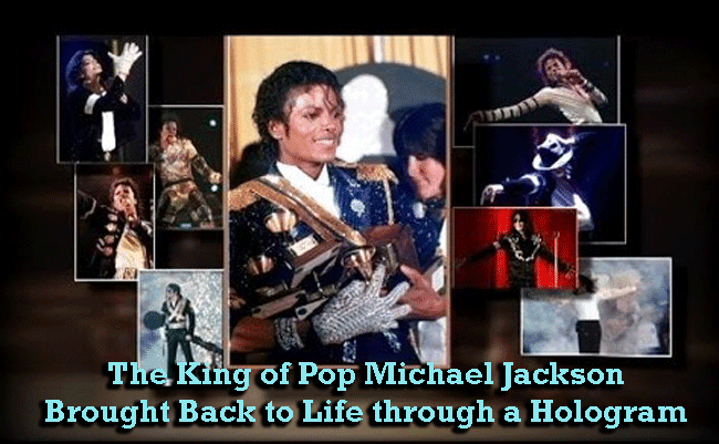 The King of Pop Michael Jackson Brought Back to Life through a Hologram