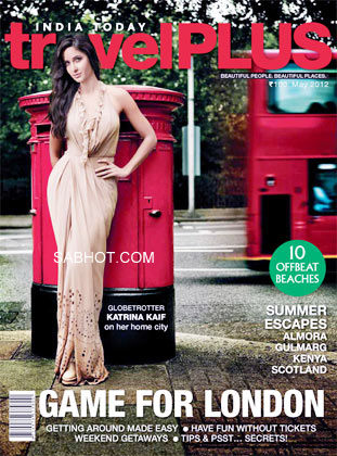 Katrina Kaif India Today Travel Plus cover page  - Katrina Kaif India Today Travel Plus cover page