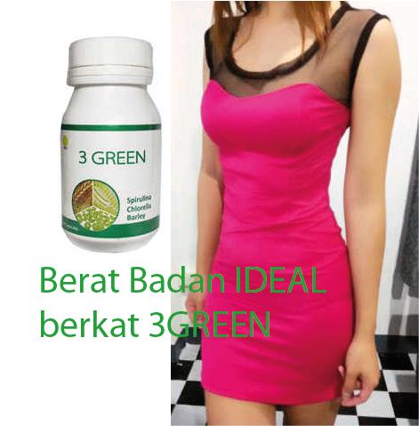 TJANTIK JELITA: 3 GREEN 60capsules