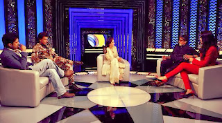 Amitabh,Amir, Deepika, Ranveer & Farhan on 'The Front Row'