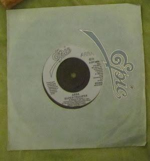 Vintage ABBA Super Trouper 45 single record