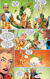Page 9 of Convergence: Supergirl Matrix #2 from DC Comics