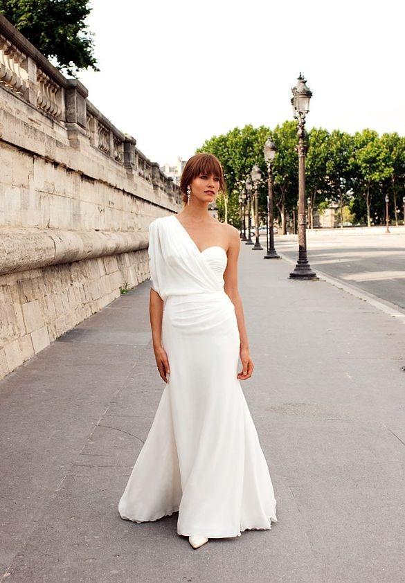 stylish Simple Wedding Dresses