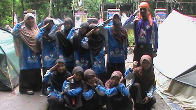 Kemah Wilayah 1 Pramuka SIT Lampung