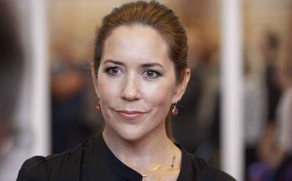 Crown Princess Mary Attend The Event 'Kaerlig Talt'