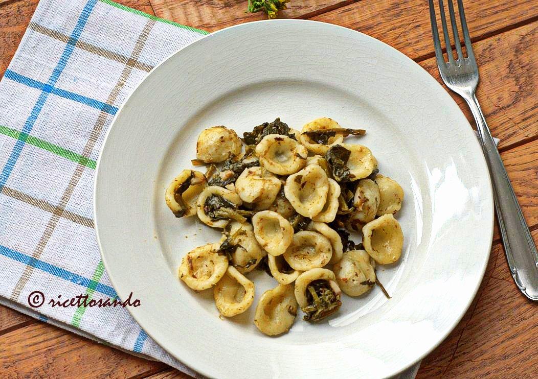 Orecchiette alle cime di rapa ricetta originale di pasta di semola