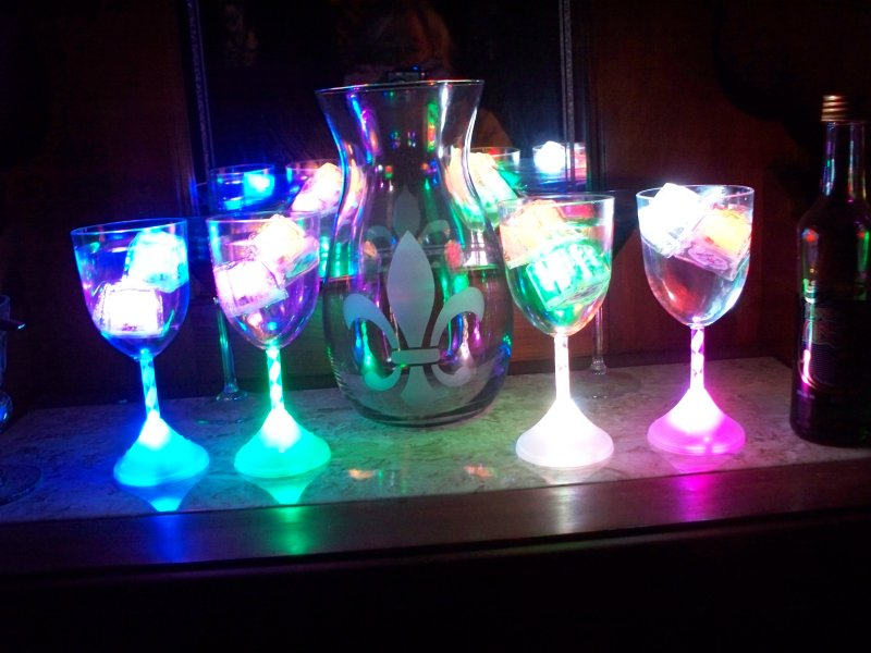LED ice clubs