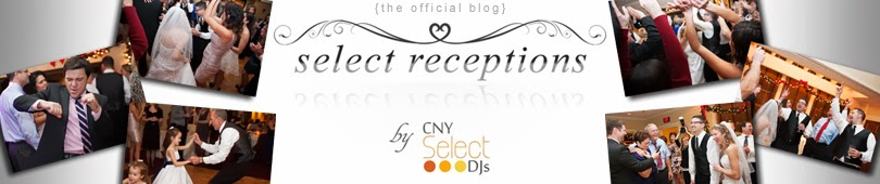 Select Receptions by CNY Select DJs - Our day's focus on one celebration- yours!