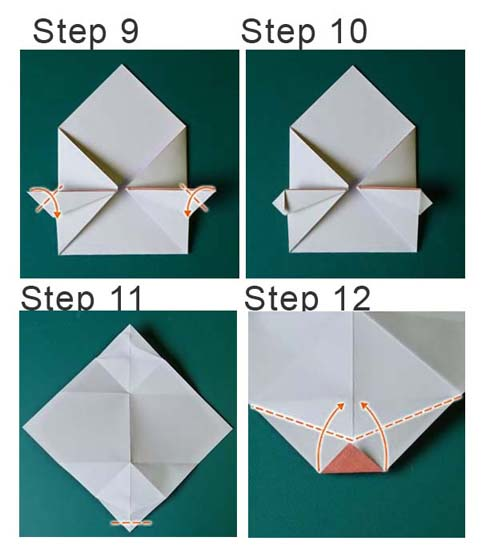 valentines origami card paper origami guide