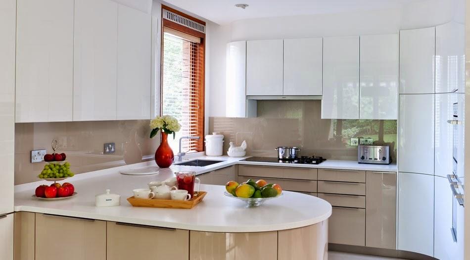 Soluciones de vidrio para la pared frontal de la cocina - Paneles para cocinas ...