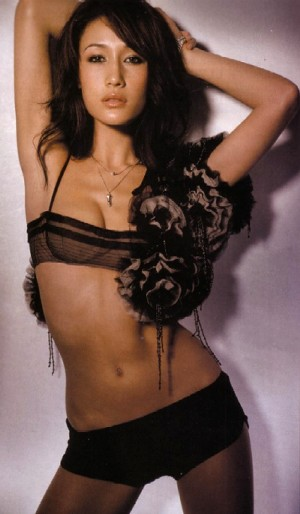 maggie q hot and sexy lingerie photo