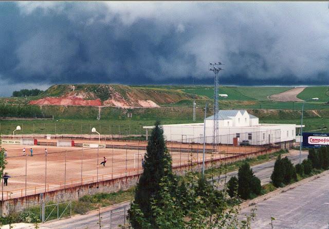 Foto del antiguo campo de la escuela fútbol de Garrido
