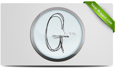 Free glass logo psd
