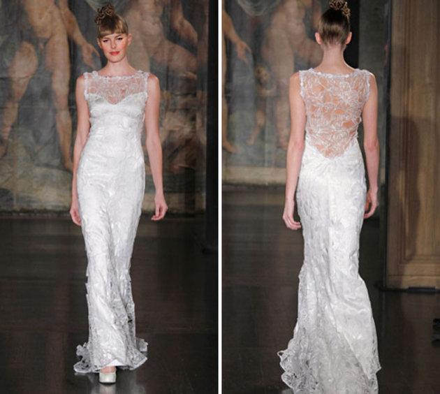 Весільна сукня Прісцілли Чан, дизайнер Клер Петтібон