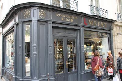 Pastelería Meert París. Blog Esteban Capdevila