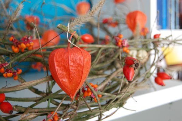 Zitronenfalterchens Kreativwelt Herbstdeko