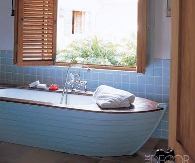 Bathtub Ideas -Boat Bathtubs, Tubs with Stencils, Painted ...