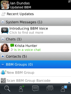 BlackBerry Messenger update adds Voice support to BlackBerry OS 5 devices