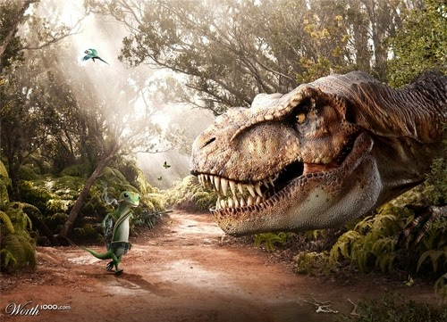 10-Geico-Super-Gecko-V-T-Rex-Designer-&-Illustrator-Marcus-Aurelius-www-designstack-co