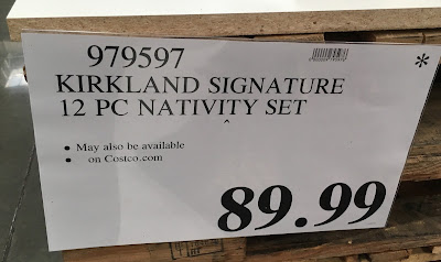 Deal for the Kirkland 12 Piece Nativity Set at Costco