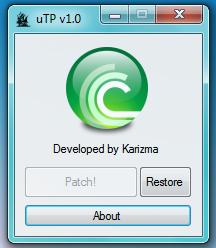 uTorrentPatch v1.0 - SpeedUP DL speed