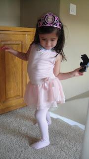 Princess Pink Ballet
