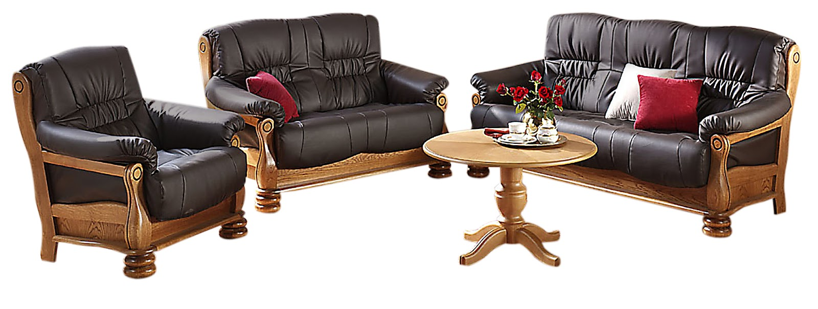 Modern wood furniture sofa -  Wooden Sofa Furniture