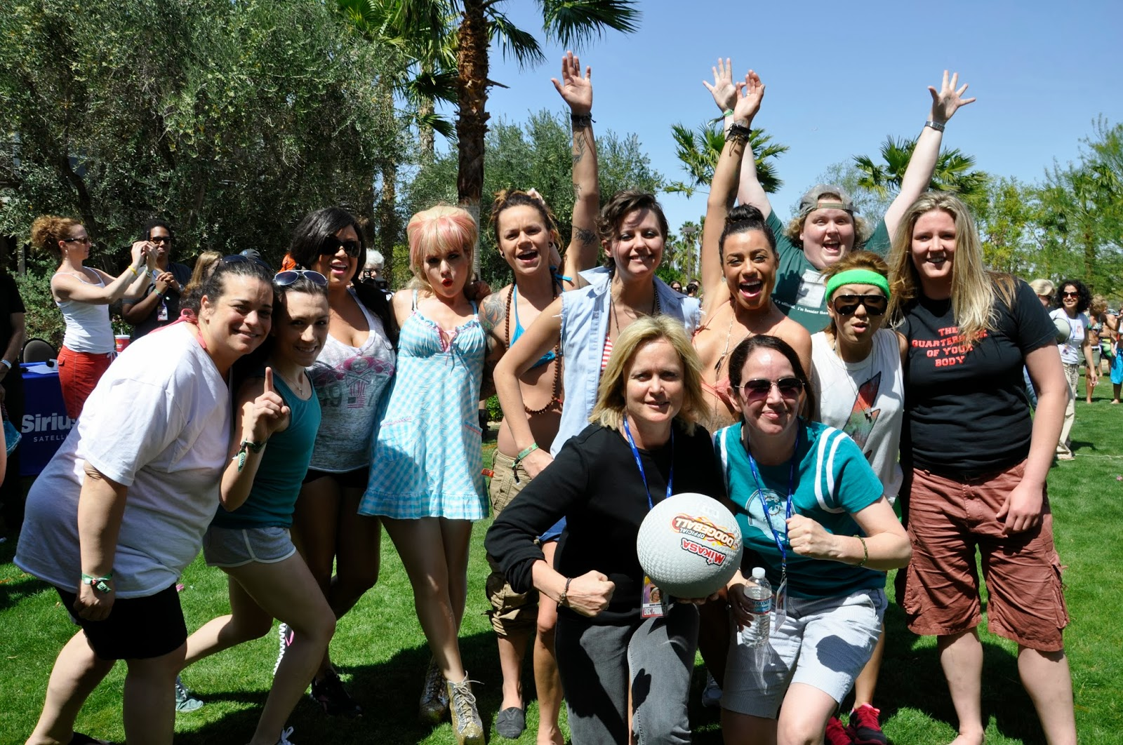 The 30 Most Fun Group Shots Taken At The Dinah Dinah Shore 2014