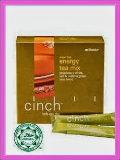 set kurus lengkap shaklee cinch teamix