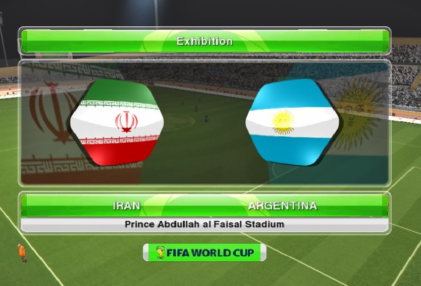 PES 2014 World Cup Scoreboard by ali.chila