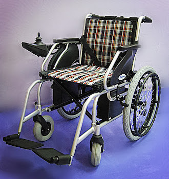Electric wheelchair 电动轮椅 Kerusi roda elektrik