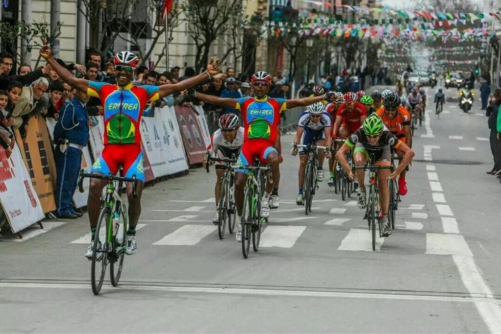 Eritrean Cyclist Mekseb Debesay Wins 3rd Stage of Tour of ...