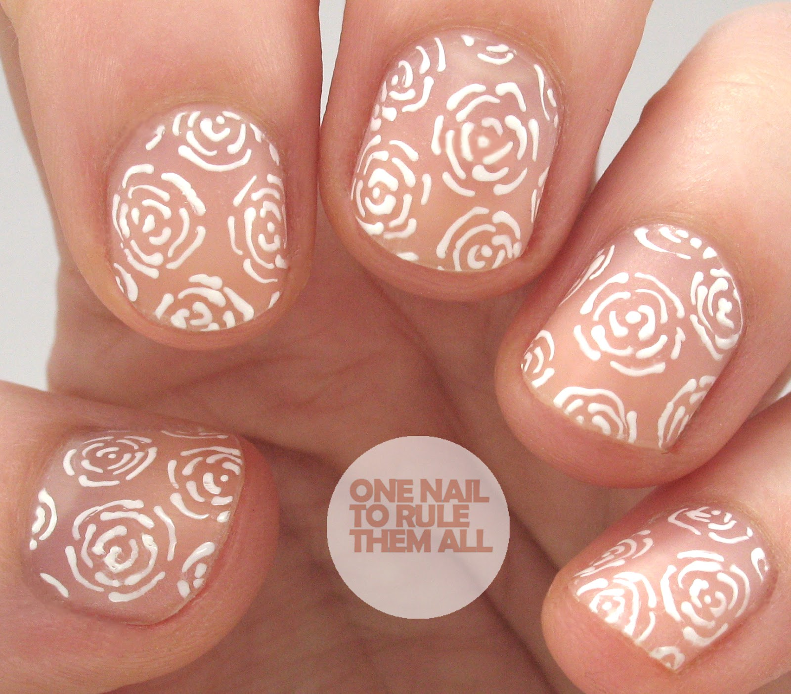 One Nail To Rule Them All Barry M Nail Art Pens Review: One Nail To Rule Them All: Negative Space Roses