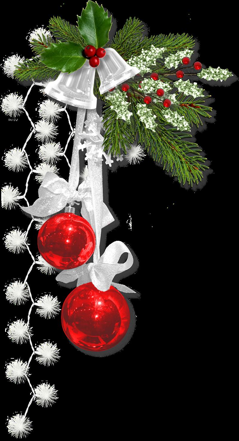 Cheyokota digital scraps silver bells christmas cluster