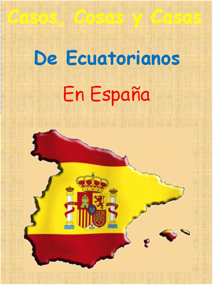 Ecuatorianos en España