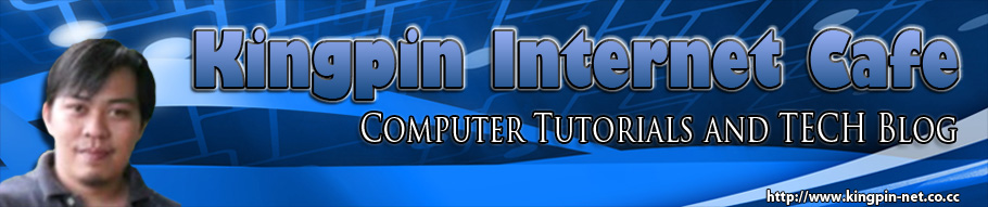 KINGPIN INTERNET CAFE - TECH BLOG